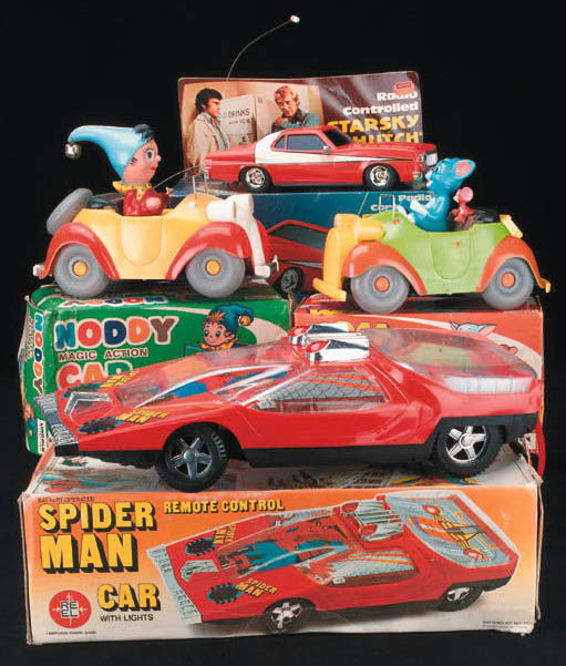 Spider-Man, Noddy, Tom and Jer