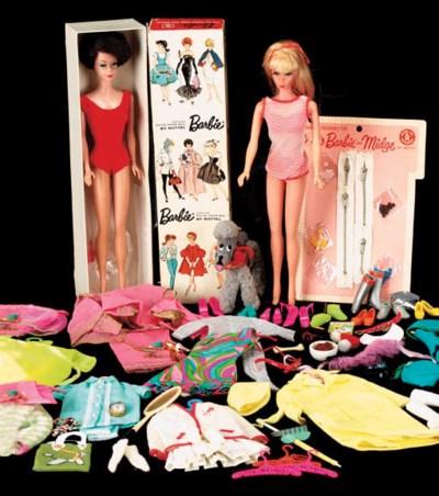 A  1962 Barbie doll