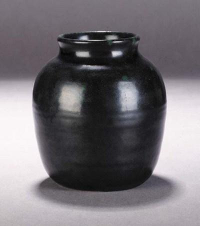 A Ruskin small vase