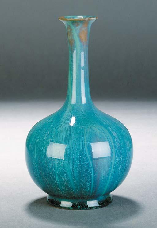 A Pilkington turquoise blue va