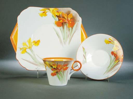 A Shelley tea set for twelve