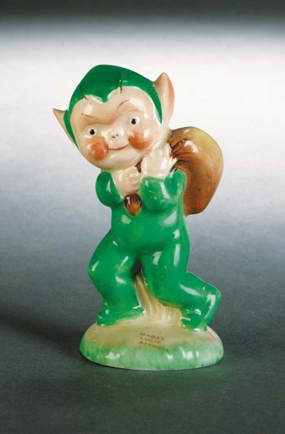 A Shelley figure of a Pixie