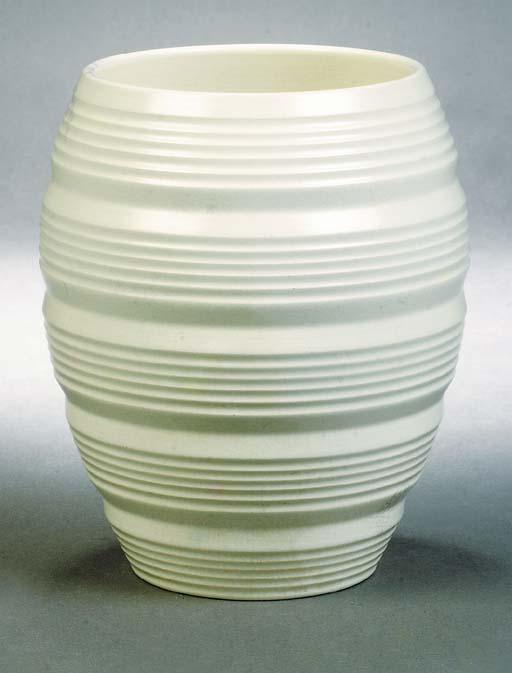 A Wedgwood ribbed vase