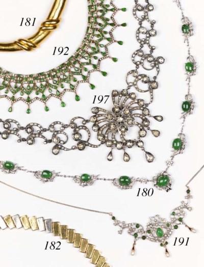 A continental collar necklace