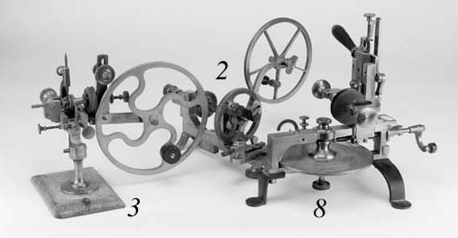 A clockmaker's wheel engine,