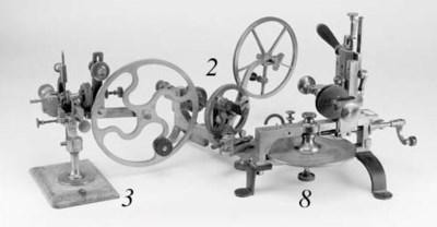 A clockmaker's wheel engine,