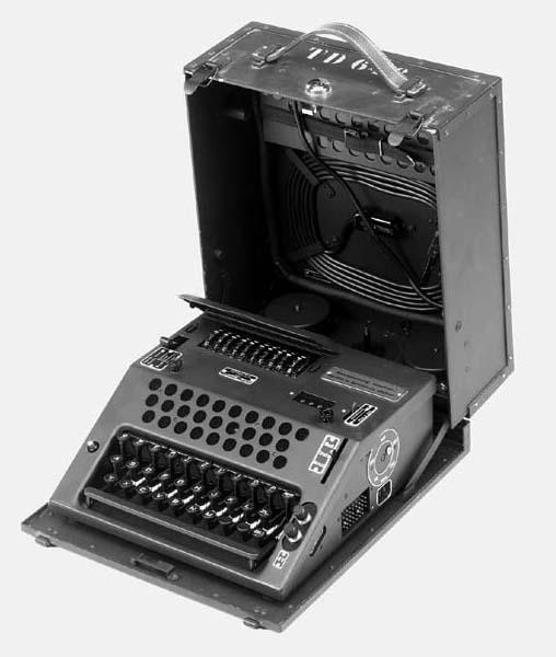 A Nema enciphering machine,