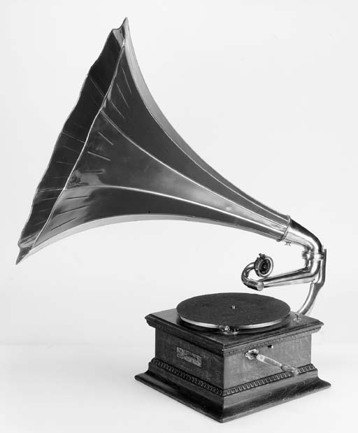 A Monarch Junior Gramophone,