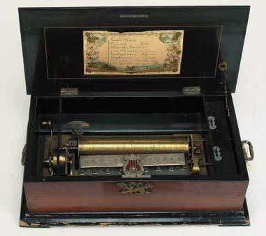 A musical box by Ami Rivenc,