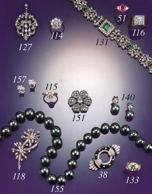 A 19th Century, diamond and ro