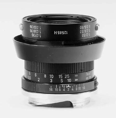 Summicron f/2 50mm. lens no. 2