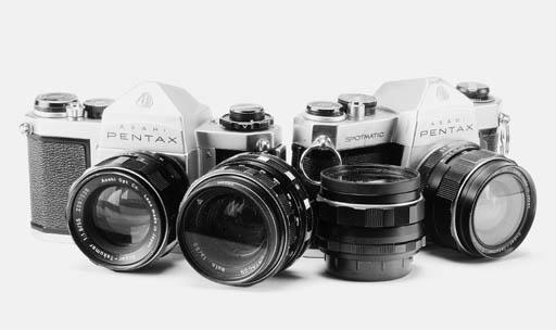 Pentax cameras and lenses