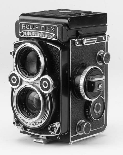 Rolleiflex 3.5F no. 2825393