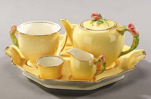 Two Royal Winton Breakfast set