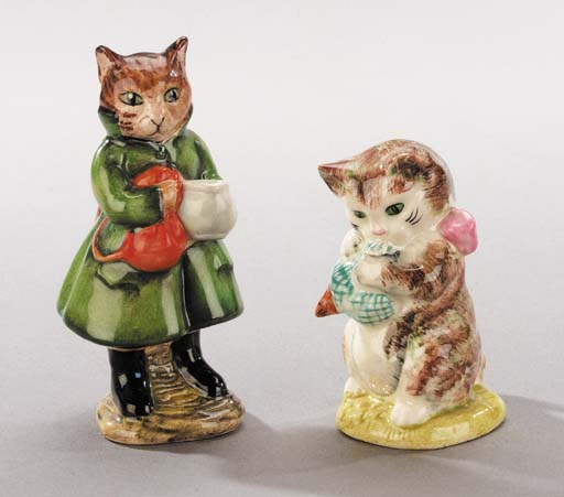 'Simpkin' and 'Miss Moppet'