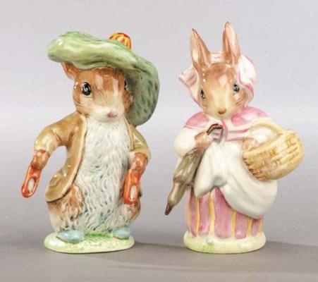 'Benjamin Bunny' and 'Mrs Rabb