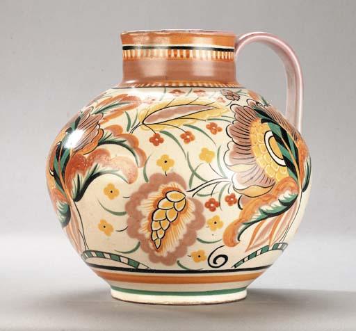 A CSA large bulbous jug