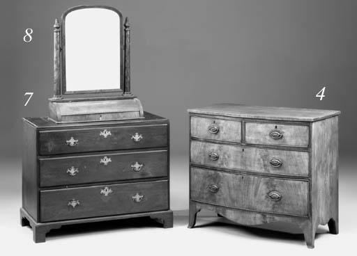 An early Victorian mahogany to