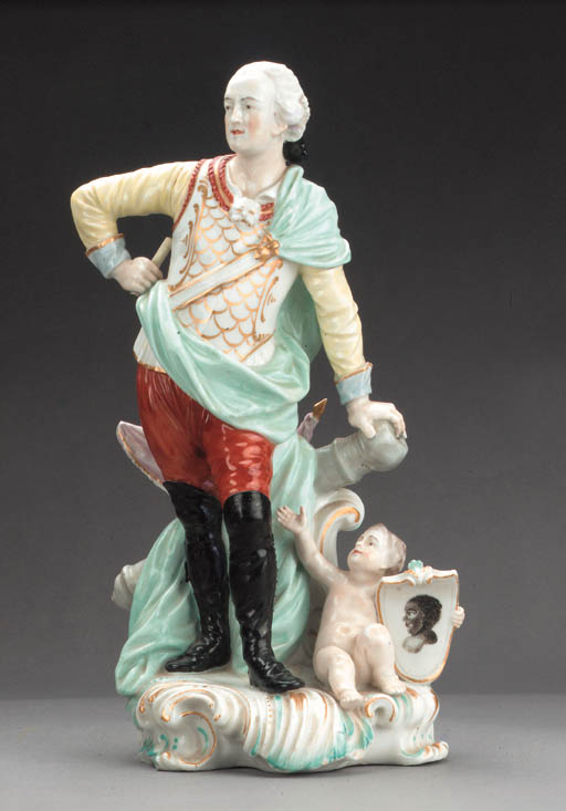 A Derby figure of General Conw