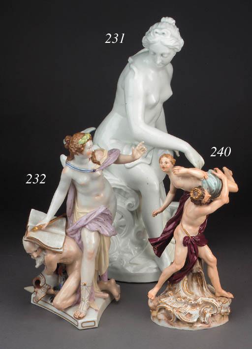 A Meissen figure of the Rape o