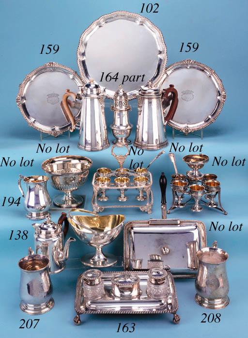 A George II tankard mug,