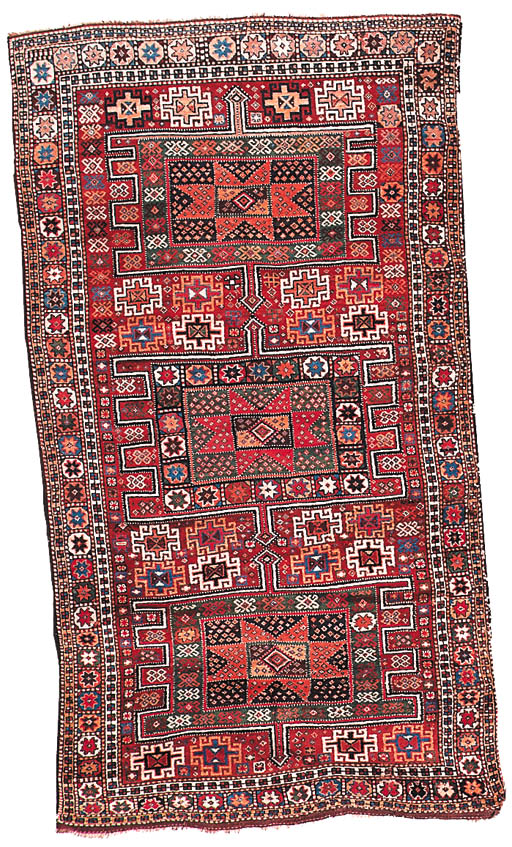 An antique Anatolian large rug