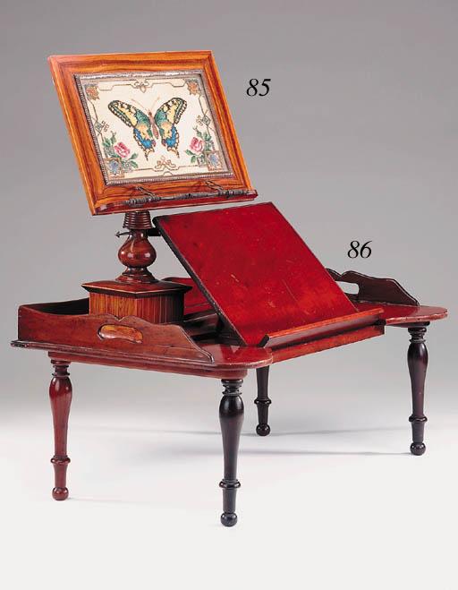 A Victorian mahogany invalids'