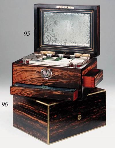 A Victorian coromandel and mot