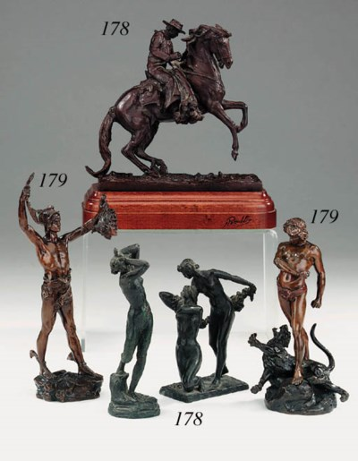 A Continental bronze equestria