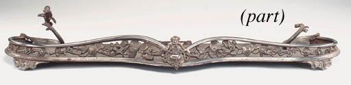 A set of George III steel fire