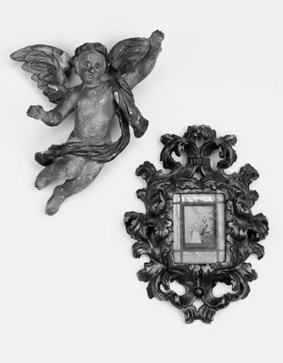 A central European carved and