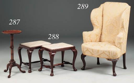 A mahogany occasional table, l