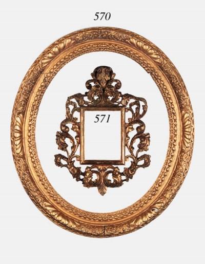 A Florentine carved, pierced a