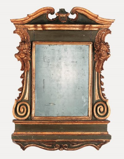 An Italian carved and gilded t
