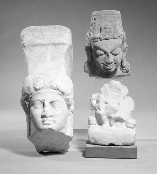 A Mathura Indian marble fragme