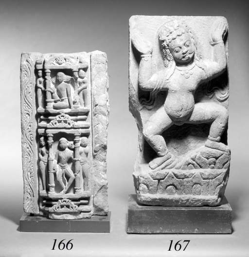 A Central Indian stone panel