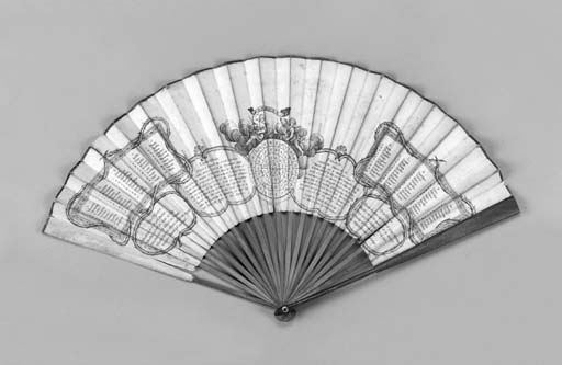Oracle, a printed fan, the lea
