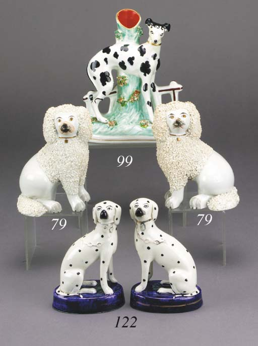 A spill vase of a greyhound