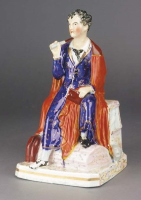 A FIGURE OF LORD BYRON