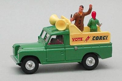 Corgi Vans