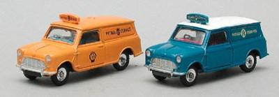 Dinky Light Vans