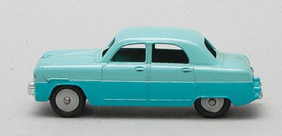 Dinky two-tone Saloon Cars