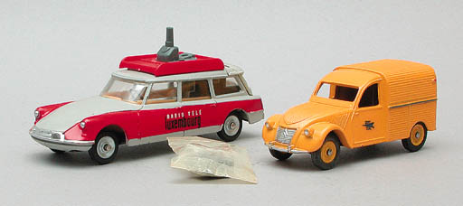 Dinky French Factory Citroëns