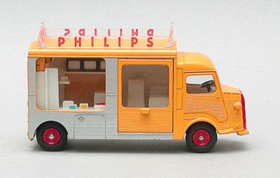 Dinky French Factory Vans