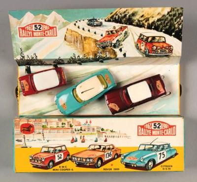 Corgi Gift Set No. 38 Rallye M