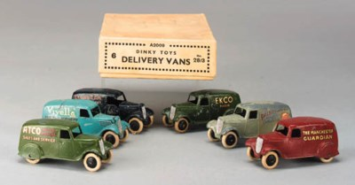 Pre War Dinky 28 Type 2 Delive