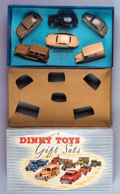 Dinky Gift Set No. 3 Passenger