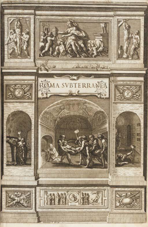 ARINGHUS, Paulus.  Roma subter