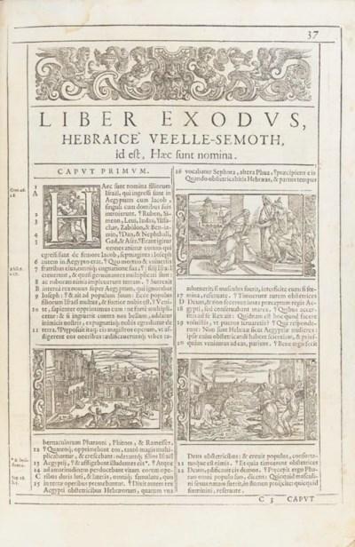 BIBLE, in Latin.  Biblia ad ve
