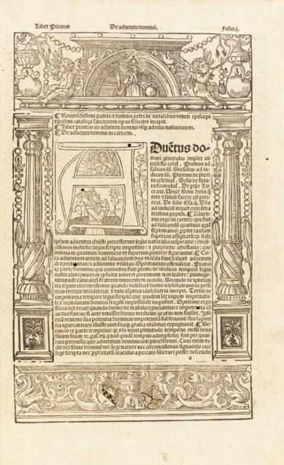 NATALIBUS, Petrus de. Catalogu